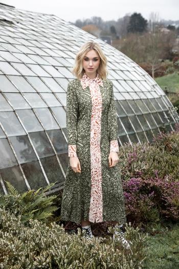 PESLEY SHIRT DRESS