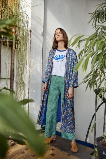 Maxi Kimono tigre