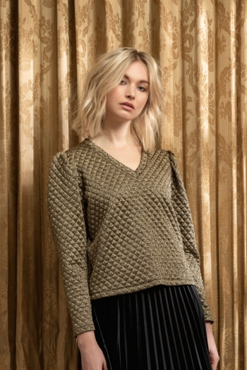 QUILTED SWEAT